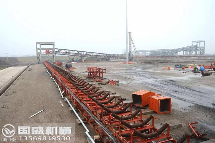 煤矿yong皮dai机设备